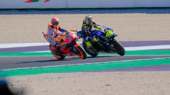 MotoGp, Marquez accusa Rossi: Non si fa così, io mi sto giocando il Mondiale...