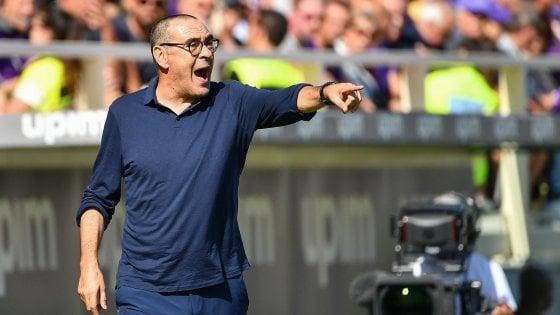 """Juventus, Sarri: """"Abbiamo giocato male, ma abbiamo sprecato i cambi"""""""