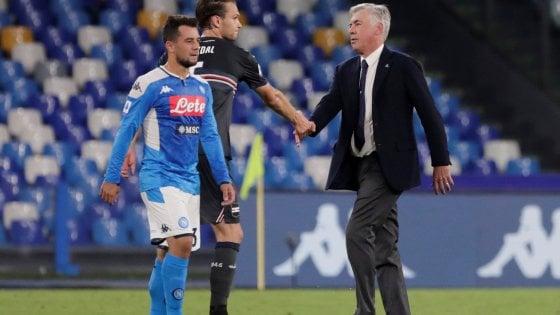 """Napoli, Ancelotti: """"Ho visto una squadra efficace"""""""