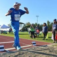 "A 103 anni campione di salto in lungo, Peppe: ""L'atletica è gioia"""