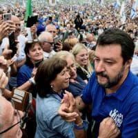 Pontida, tensione al raduno dei leghisti: aggredito un giornalista di Repubblica