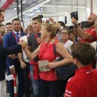 Ferrari family day, festa show per i dipendenti
