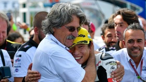 Moto3, a Misano vince Suzuki. Paolo Simoncelli: Per me è come un secondo figlio