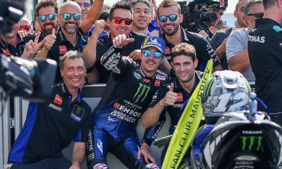 MotoGp, Marquez vince il duello con Quartararo e trionfa a Misano. Rossi quarto, Dovizioso sesto