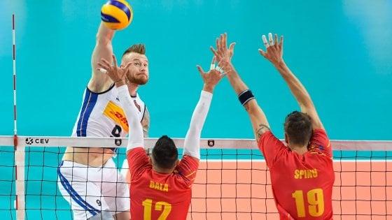 Volley, Europei: l'Italia cede un altro set ma vince ancora, 3-1 alla Romania