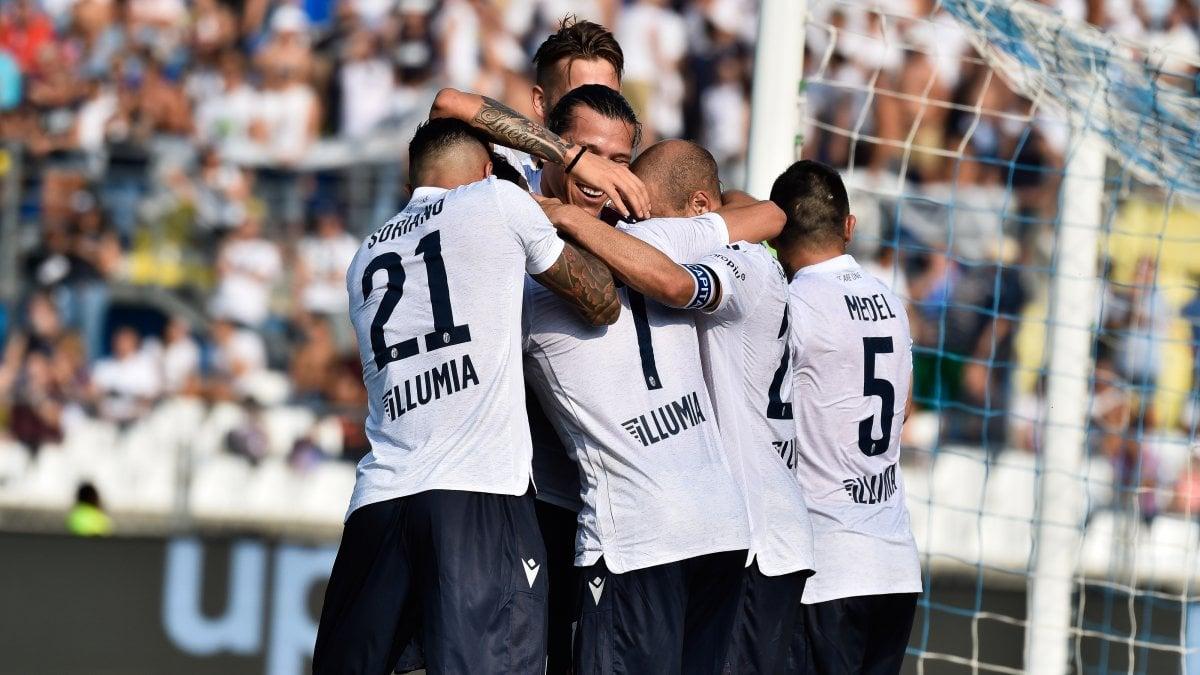 Brescia-Bologna 3-4: ingenuità di Dessena e Orsolini ribalta tutto