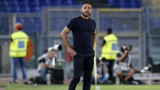 """Sassuolo, De Zerbi: """"Abbiamo facilitato la Roma"""""""