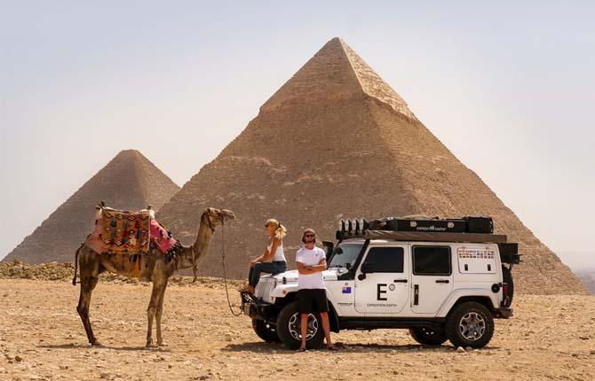 Jeep ed Expedition Earth, così la Wrangler fa il giro del mondo