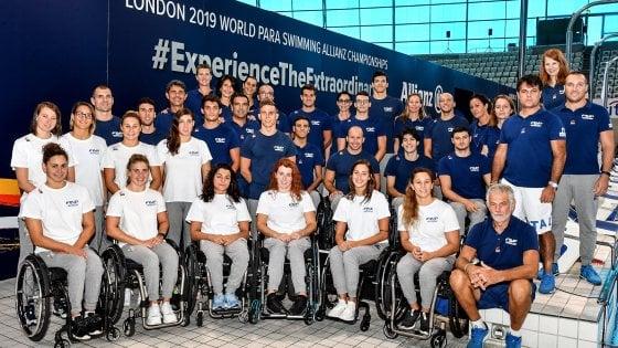 Mondiali di nuoto paralimpico: l'Italia è campione del mondo