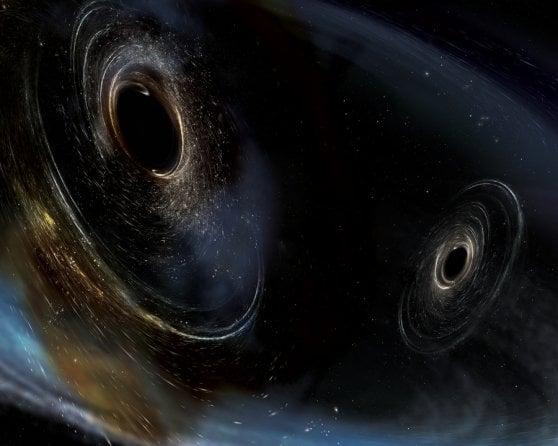 """Per chi suona il buco nero. Quel """"rintocco"""" gravitazionale che ci svela l'identikit dei mostri cosmici"""