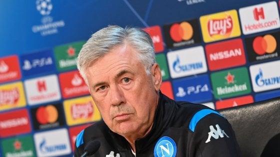 Napoli, Ancelotti: ''Liverpool favorito, voglio un San Paolo stile Anfield''