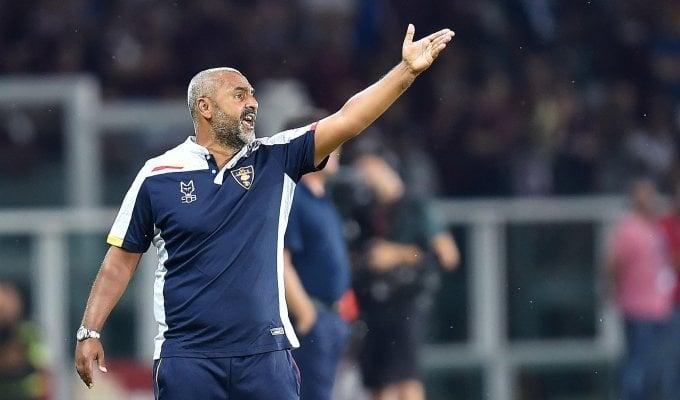 """Lecce, Liverani: """"Prestazione brillante, la squadra è sempre stata in partita"""""""
