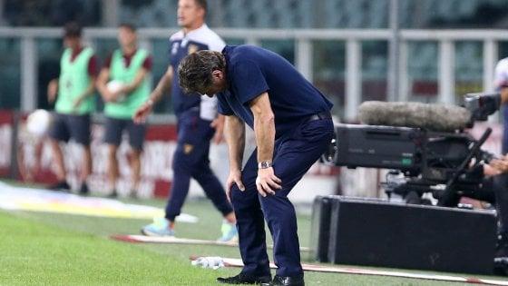 """Torino, Mazzarri: """"Chiedo scusa ai tifosi, la sconfitta è colpa mia"""""""