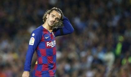 Caso Griezmann, il Barça può scegliere gara a porte chiuse o 300 euro di multa