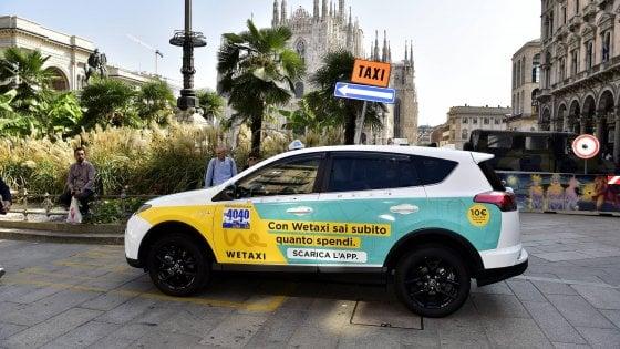 Corse condivise e pagamenti smart, WeTaxi arriva a Roma e Milano