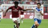 Ululati a Lukaku e Kessie Cagliari e Verona 'salve'