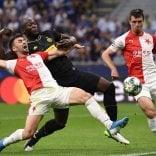 L'Inter si salva solo al 92' Con lo Slavia Praga finisce 1-1