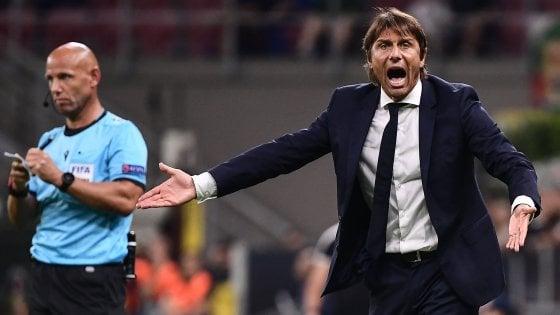 """Inter, Conte: """"Slavia superiore in tutto, io il primo responsabile"""""""