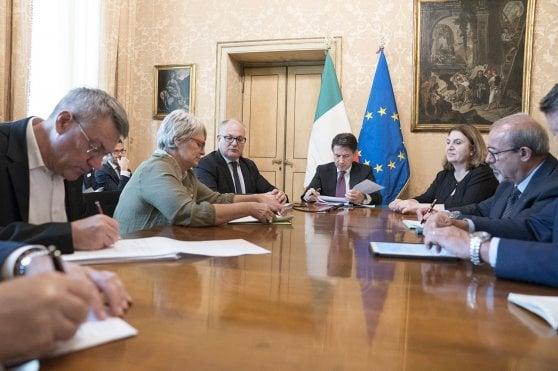 L'incontro di oggi a Palazzo Chigi