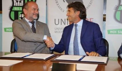 Sassuolo, accordo con l'Università di Modena e Reggio in favore dei giovani