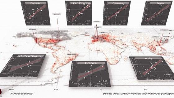 Un algoritmo può dirci dove il mondo va in vacanza, in tempo reale, dalle foto postate sui social