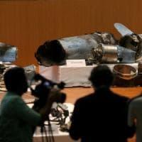 """Arabia Saudita mostra i cruise e droni dell'attacco al petrolio: """"Sono arrivati da nord,..."""