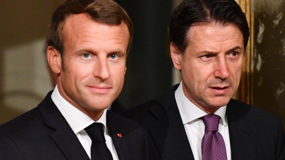 """Italia-Francia, Macron: """"Paesi che non accolgono siano penalizzati ..."""