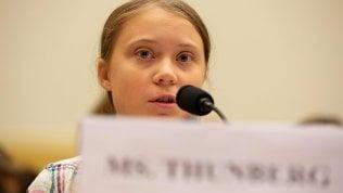 """Greta Thunberg parla al Congresso Usa: """"Voi politici non fate abbastanza"""" Video"""