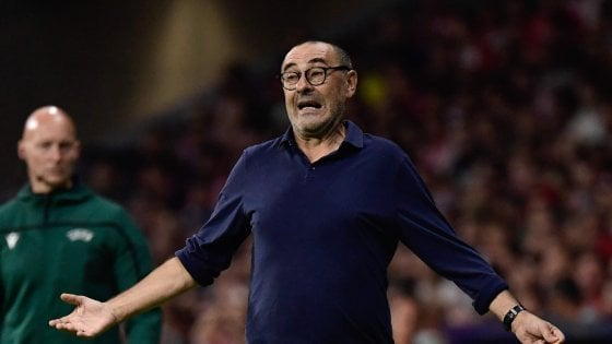"""Juventus, Sarri: """"Avevamo la gara in pugno, resta l'amaro in bocca"""""""