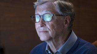 """Rep: Bill Gates: """"Il mondo migliora, ma nuovi rischi dal clima che cambia"""""""