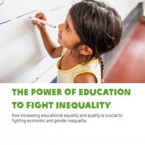 """Rapporto Oxfam: """"I poveri non terminano la scuola"""""""