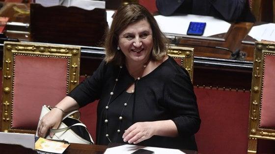 La ministra Catalfo