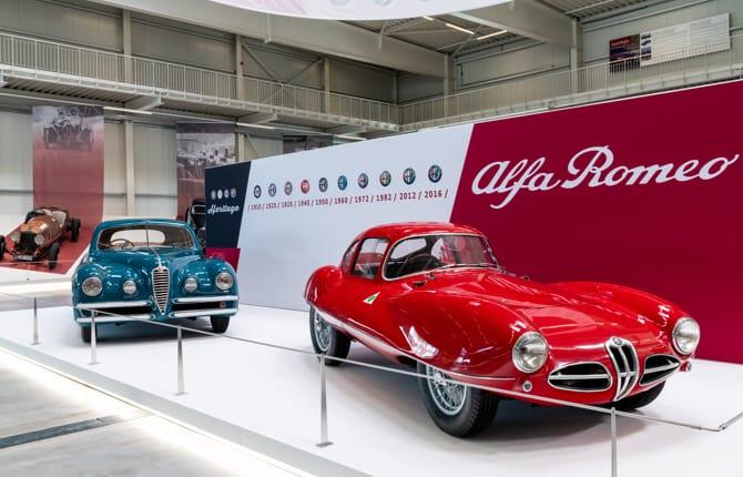 """Il """"Mito Alfa Romeo"""" arriva al Museo della Tecnica di Sinsheim"""