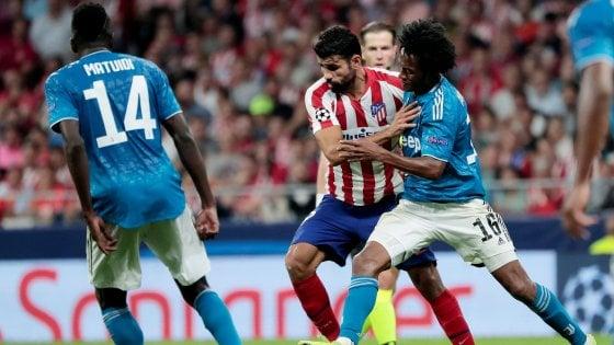 Juventus, Cuadrado dal gol alla rabbia. Bonucci lo difende
