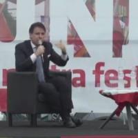 """Conte alla festa di Articolo 1: """"La scissione di Renzi era nell'aria, sorpreso dai tempi...."""