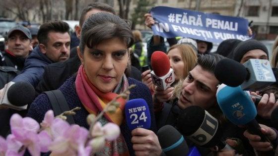 Schiaffo dell'Ue ai sovranisti: all' anticorruzione va l'eroina della società civile romena