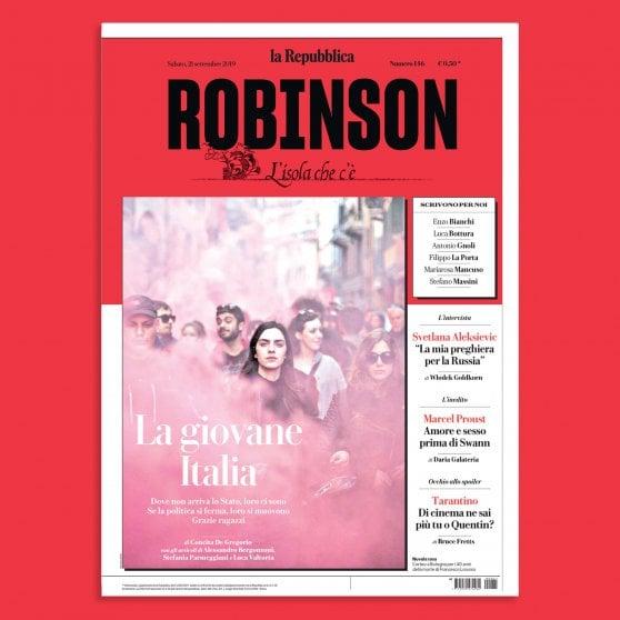 La meglio gioventù è su Robinson