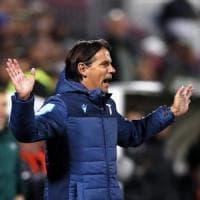 Lazio, Inzaghi non ci sta: ''Sconfitta immeritata, dovevamo chiuderla prima''