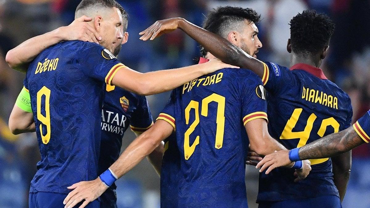 Europa League, Roma-Istanbul Basaksehir 4-0: Zaniolo ispira, i ...