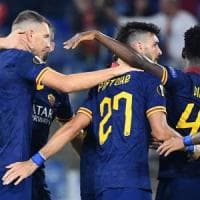 Europa League, Roma-Istanbul Basaksehir 4-0: Zaniolo ispira, i giallorossi