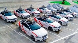 Didi Chuxing lancia il primo servizio di taxi a guida autonoma
