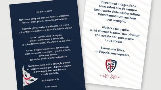 Cagliari, 'Noi siamo sardi': una poesia di Grazia Deledda per combattere il razzismo