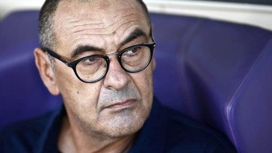 """Juventus, Sarri: """"Questa squadra è diversa, non sarà mai come il mio Napoli"""""""