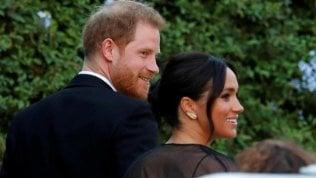Roma, Harry e Meghan alle nozze dell'amica che li fece incontrare