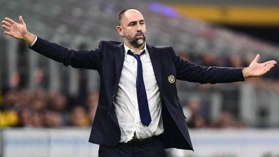 """Udinese, Tudor: """"Con il Brescia serve un salto di qualità"""""""