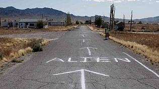 """""""Storm Area 51"""" alla ricerca degli alieni: l'invasione pacifica c'è stata, ecco cosa è successo nel deserto dei segreti foto di KATIA RICCARDI"""