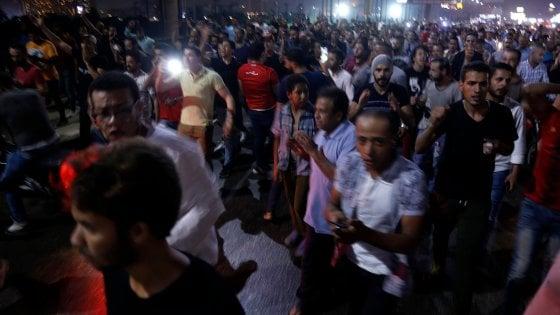 Egitto, protesta in piazza Tahrir contro il presidente Sisi: almeno 150 arresti