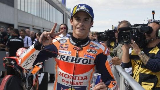 MotoGp, Aragon: Marquez in pole davanti a Quartararo, Rossi sesto