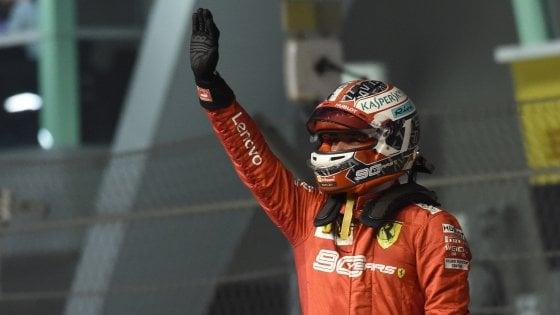F1, Gp Singapore: Ferrari in pole con Leclerc, Vettel terzo dietro Hamilton