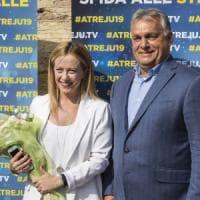 """Orbán: """"Il governo in Italia si è staccato dal popolo"""". Di Maio: """"Eviti ingerenze""""...."""